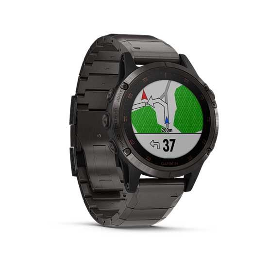 Garmin-Fenix-5-Plus-Sapphire-Carbon-Gray-DLC-Titanium-with-DLC-Titanium-Band-2