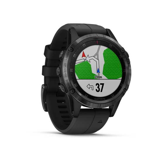 Garmin-Fenix-5-Plus-Sapphire-DLC-Carbon-Gray-with-Black-Band-2