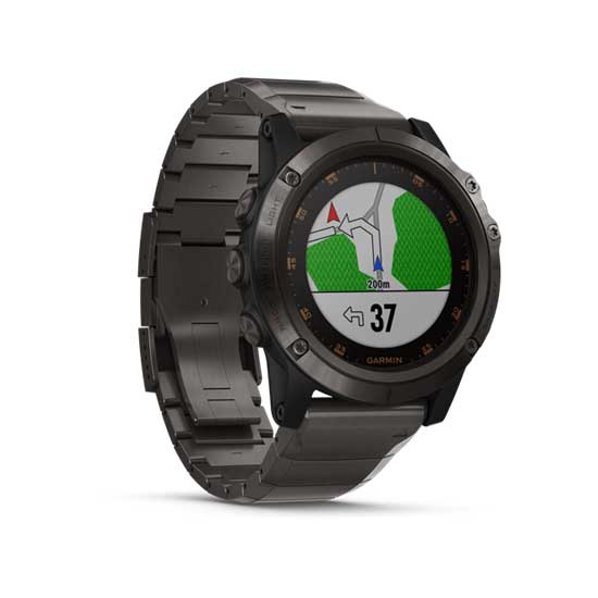 Garmin-Fenix-5X-Plus-Sapphire-Carbon-Gray-DLC-Titanium-with-Titanium-Band-2