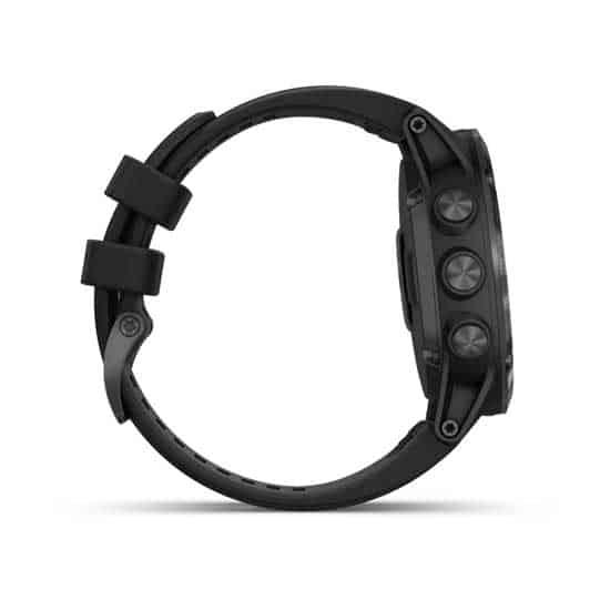 Garmin-Fenix-5X-Plus-Sapphire-DLC-Carbon-Gray-with-Black-Band-3