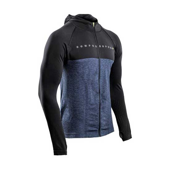 Compressport-3D-Thermo-Seamless-Zip-Hoodie-Black-Edition-10