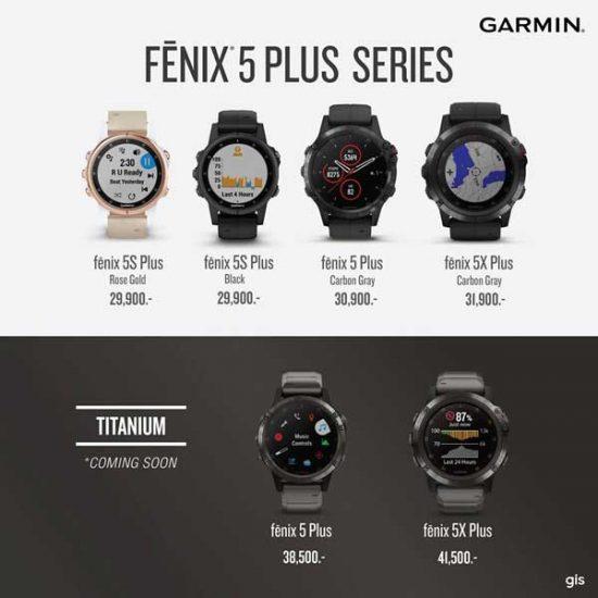 Review Garmin Fenix 5 Plus แบบน กก ฬา อย างละเอ ยด Avarin Running