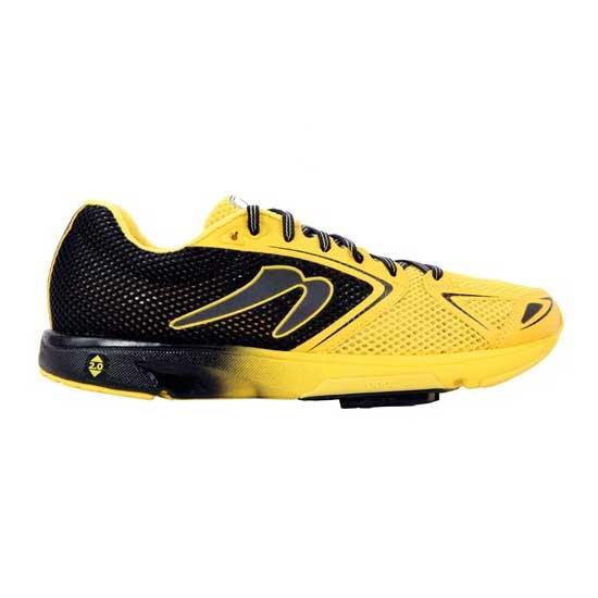 Newton-Men's-Distance-VII-Black-Yellow