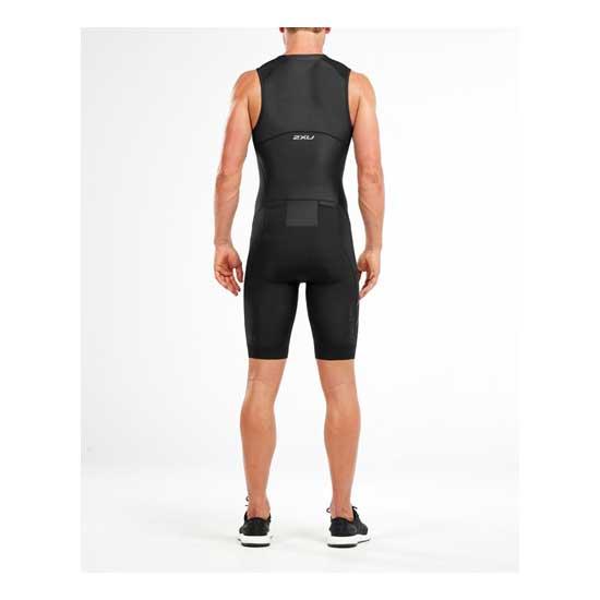 2XU-Men's-Compression-Full-Zip-Trisuit-Black-Black-2