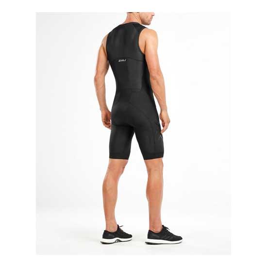 2XU-Men's-Compression-Full-Zip-Trisuit-Black-Black-3