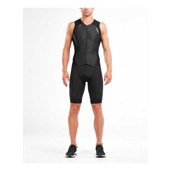 2XU-Men's-Compression-Full-Zip-Trisuit-Black-Black