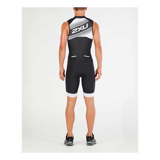 2XU-Men's-Compression-Full-Zip-Trisuit-Black-White-Logo-Graphic-2