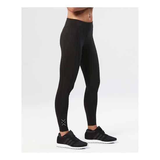 2XU-Women's-Fitness-Mid-Rise-Compression-Tights-Black-Silver-1