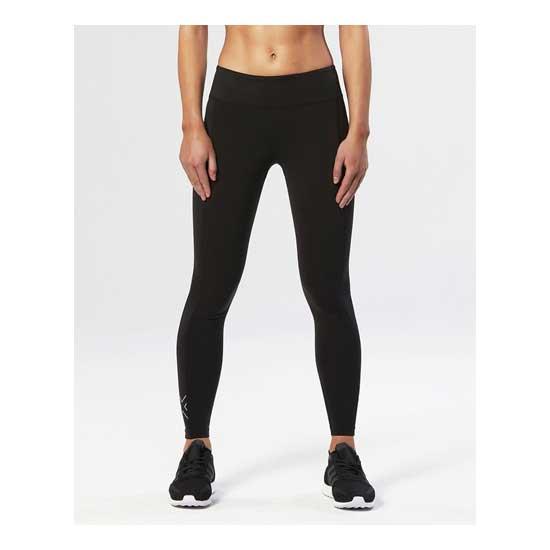 2XU-Women's-Fitness-Mid-Rise-Compression-Tights-Black-Silver